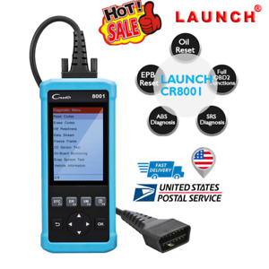 Launch Obd2 Obdii Diagnostic Tool Scanner Car Auto Fault Code Reader Srs Abs