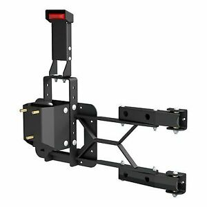 Aries Offroad Heavy Duty Spare Tire Carrier Black 2563000