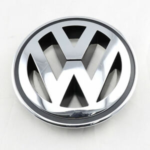 Front Chrome Grille Round Emblem Logo For Vw Golf Jetta Passat Tiguan Cc
