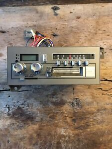 Vintage 86 Audiovox Cassette Car Audio Stereo Am Fm Radio Made In Japan