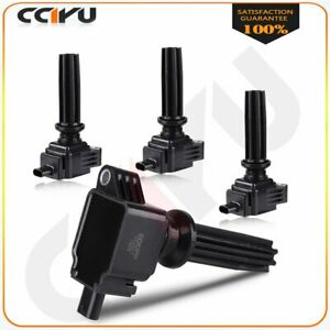 New Ignition Coil Pack Fits Ford Edge Escape Focus Fusion Uf670 Pack Of 4