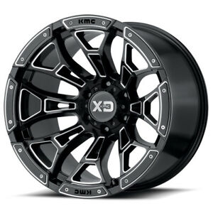 20x9 Black Wheels Rims Xd841 1994 2019 Dodge Ram 2500 3500 Trucks 8x6 5 0mm