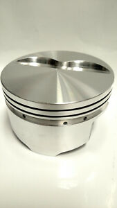 Srp 138094 Small Block Chevy 350 400 Forged Aluminum Flat Top Pistons Stroker