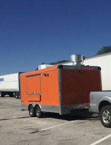 2018 8 X 18 Food Concession Trailer Mobile Kitchen For Sale In Texas