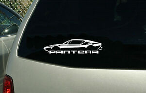 Pantera Sport Car Sticker Decal