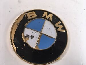 Vintage 1980s Bmw Car Badge Emblem Hood Ornament