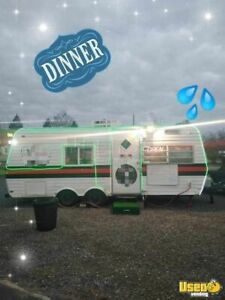 Vintage 1977 8 X 20 Food Concession Trailer For Sale In Tennessee