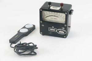 Weston Electrical Instrument Corp 756 Foot Candles Illumination Meter