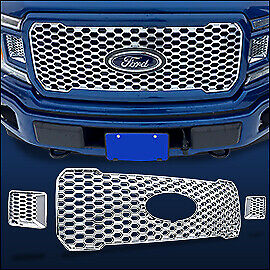 Free Shipping 18 2020 Ford F150 Xl W Stx Package Snap On Grille Overlay 161