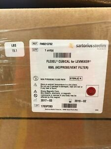 Sartorius Stedim Flexel Cubical For Levmixer 650l Ac probe vent Filter Fmb213762