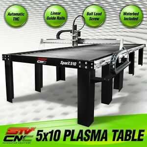 Stv Cnc 5x10 Plasma Cutting Table Sparx510 Made In The Usa