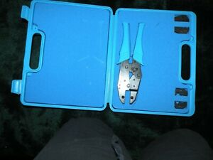 Rf Industries Connectors Rfa 4005 Crimp Tool Kit With Case New Y7