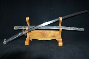 Sepcial Offe Collectable Japanese Katana Sword Real Clay Tempered Folded Steel