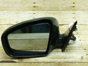 09 12 Infiniti Ex35 Left Driver Side Mirror With Camera And Light