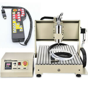 3 Axis Cnc Router Engraver 1500w Pcb wood crystal Acrylic Engraving Machine rc