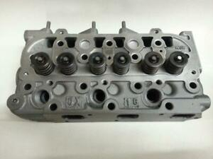 Used Kubota B7410 Cylinder Head W valves Reconditioned No Cracks No Welds