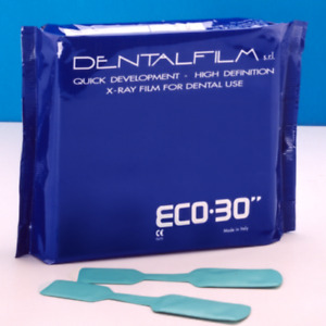 3 X Eco 30 Dental Self Developing Dental X ray Film 50 Pcs Pack