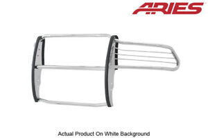 10 18 Dodge Ram 2500 3500 Grille Brush Guard Front Polished Stainless Aries