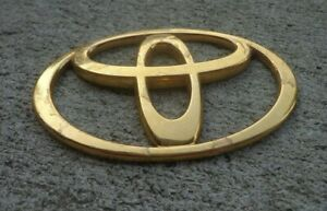 Toyota Solara Gold T Trunk Emblem Badge Decal Logo Oem Factory Genuine Stock