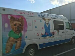 Mobile Dog Grooming Business Truck For Sale In New York
