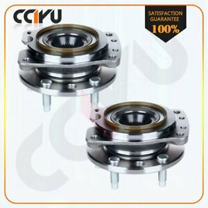 Pair Front Wheel Hub Bearing For Grand Prix Lumina Monte Carlo Regal Cutlass