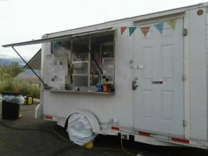 2006 7 X 13 Cs 14 Mobile Kitchen Unit Used Food Concession Trailer For Sal