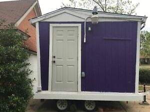 6 X 8 Shaved Ice Concession Trailer For Sale In Oklahoma