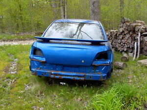 2004 Subaru Body Of Car Shell Only Blue