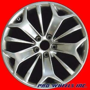Ford Taurus 2013 2014 2015 19 Hyper Silver Factory Original Oem Wheel Rim 3925