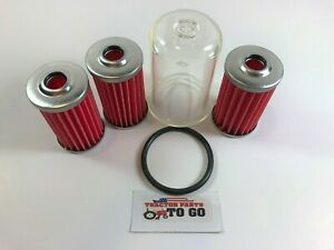 Massey Ferguson Fuel Filter Kit 5 Piece 1010 1020 1030 1210 1220 1230 more