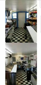 Street Biz Ready 8 X 18 Used Food Concession Trailer Mobile Kitchen For Sale