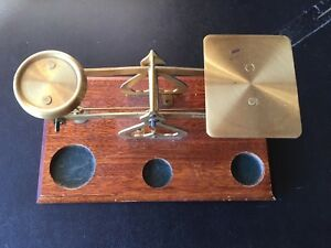 1960 S Balance Scales 4 Weight S Made In England