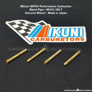 Mikuni 40phh Carburetor Bleed Pipe Size T 4pcs n101 190 t Datsun 510 Solex