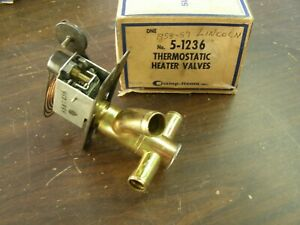 Nos 1958 1959 Lincoln Heater Water Control Valve Premiere Continental Mark Iii