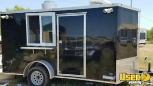 2017 7 X 14 Food Concession Trailer For Sale In Texas