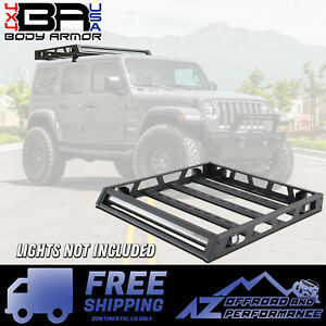 Body Armor 4x4 Bolt On Jeep Hardtop Roof Rack For 2007 2019 Jeep Wrangler Jk Jl