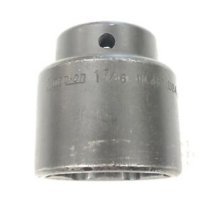Snap On 1 7 16 Impact Socket 1 2 Drive 6 Point Im460