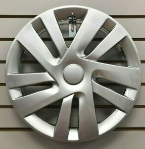 New 15 Silver Hubcap Wheelcover That Fits 2015 2018 Chevy City Express Van