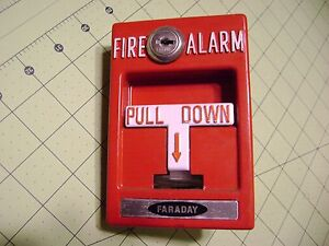 Faraday Manual Fire Alarm Pull Station Rms 1t With Glass Rod