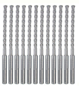 17pcs Sds Plus Rotary Hammer Drill Bits Chisel Bit Set Concrete Stone Bricks