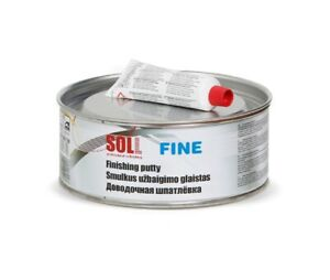 Soll Fine Finishing Putty Polyester Component High Quality Full Box