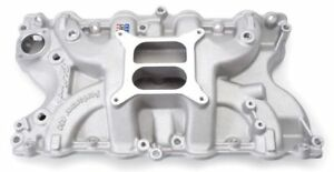 Edelbrock 2166 Performer Bbf Aluminum Intake 429 460 Big Block Ford Satin