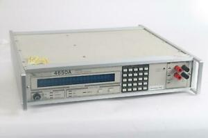 As Is Valhalla Scientific 4650a Programmable Digital Igniter Tester System