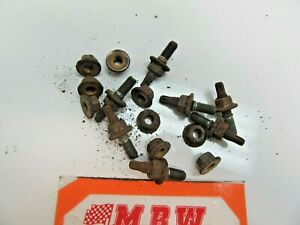 Exhaust Manifold Bolts Nuts Bolt To Cylinder Head Engine Motor For Bmw 328i 3 0l