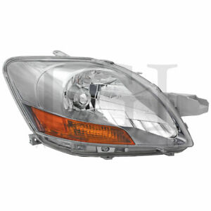 For 2007 2011 Toyota Yaris Right Passenger Side Head Lamp Headlight