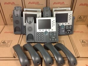 Lot Of 5 Cisco Ip Phone 7965g Office Business Phone