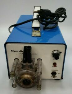 Cole Parmer Masterflex Peristaltic Pump 7520 25 Unit With 7018 20 Pump Head