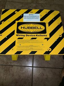 New No Box Hubbell Sbsb2 Temporary Power Distribution Spider Box
