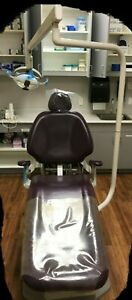 2 Adec 1021 Dental Exam Chair Operatory Package With Stools Light