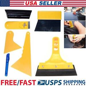 Professional 7 In 1 Car Window Film Tools Squeegee Scraper Set Kit Car Tint Us